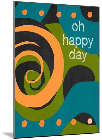 Oh Happy Days-Lisa Weedn-Mounted Giclee Print