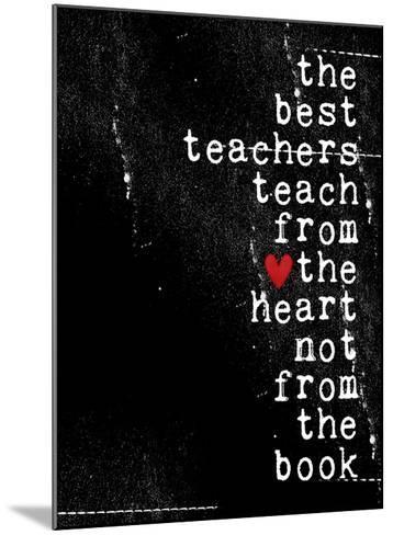 The best teachers-Cheryl Overton-Mounted Giclee Print