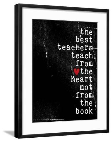 The best teachers-Cheryl Overton-Framed Art Print