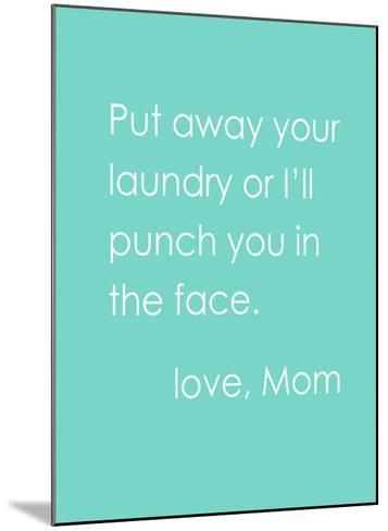 Love Mom-Cheryl Overton-Mounted Giclee Print