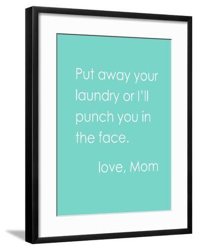Love Mom-Cheryl Overton-Framed Art Print
