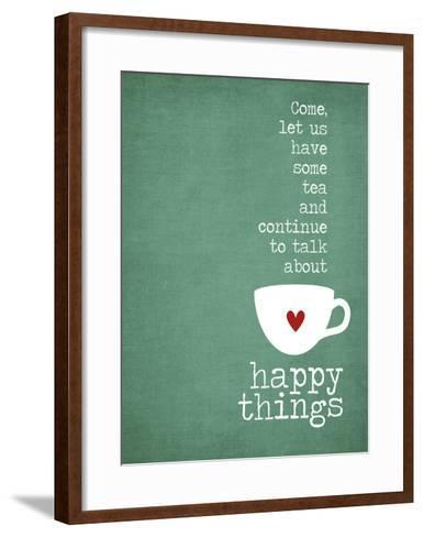 Happy Things-Cheryl Overton-Framed Art Print
