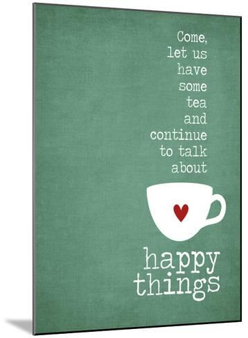 Happy Things-Cheryl Overton-Mounted Giclee Print
