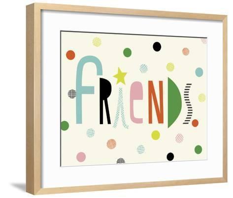 Friends-Sophie Ledesma-Framed Art Print