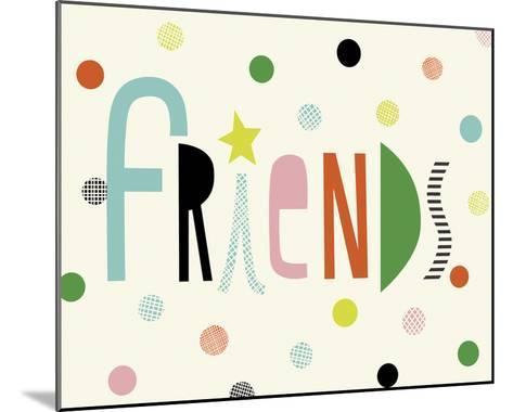 Friends-Sophie Ledesma-Mounted Giclee Print