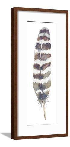 Feather Drift I-Sandra Jacobs-Framed Art Print