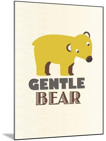 Gentle Bear-Sophie Ledesma-Mounted Giclee Print