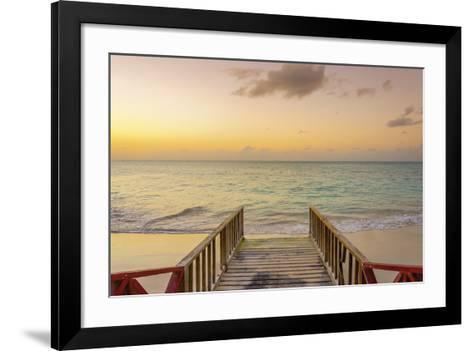 A Tropical Escape-Alan Copson-Framed Art Print