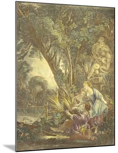 La Chasse-Francois Boucher-Mounted Premium Giclee Print