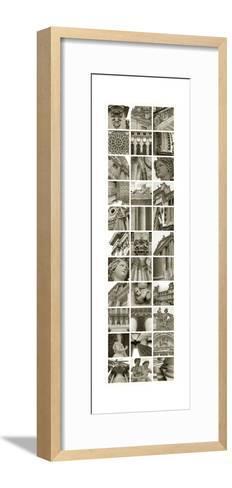 Paris and London-Mary Karla-Framed Art Print