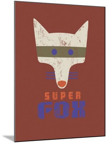 Super Fox-Sophie Ledesma-Mounted Giclee Print