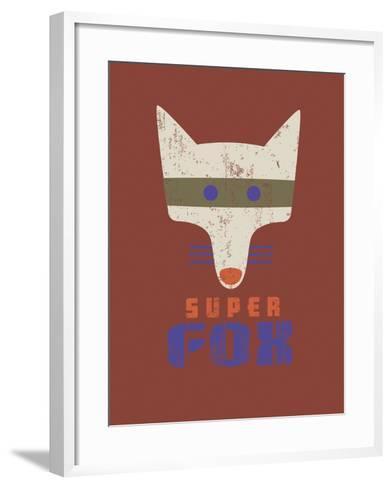 Super Fox-Sophie Ledesma-Framed Art Print