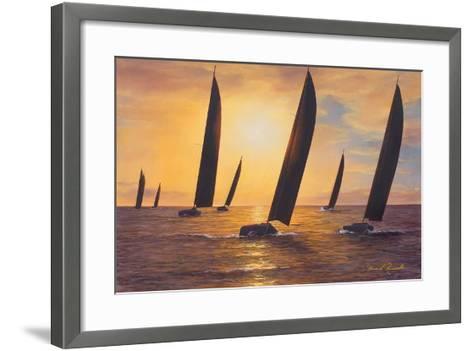 Into the Sunset-Diane Romanello-Framed Art Print