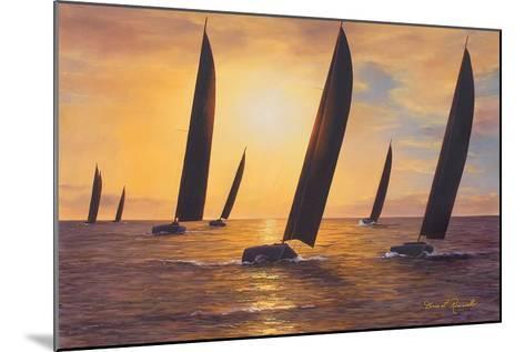 Into the Sunset-Diane Romanello-Mounted Art Print