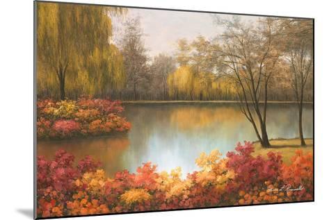Autumn Palette-Diane Romanello-Mounted Art Print