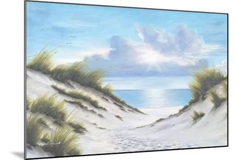 Sand and Sea-Diane Romanello-Mounted Art Print