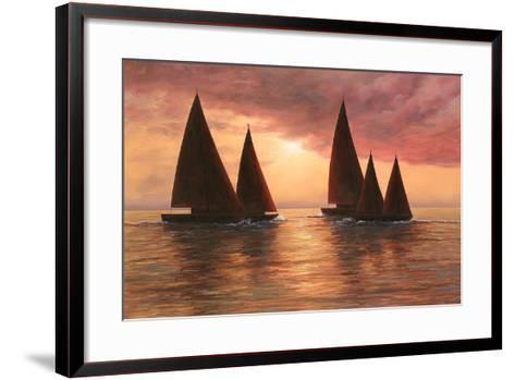 Dream Sails-Diane Romanello-Framed Art Print