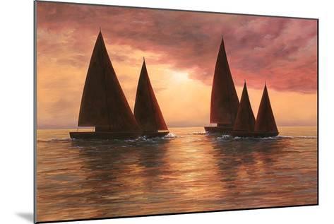 Dream Sails-Diane Romanello-Mounted Art Print