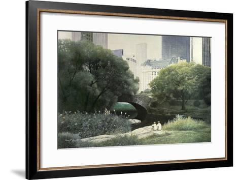 Summer Days-Diane Romanello-Framed Art Print
