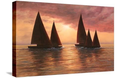 Dream Sails-Diane Romanello-Stretched Canvas Print
