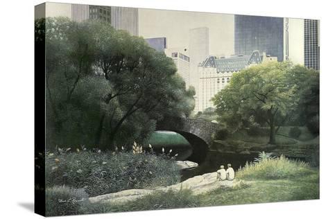 Summer Days-Diane Romanello-Stretched Canvas Print