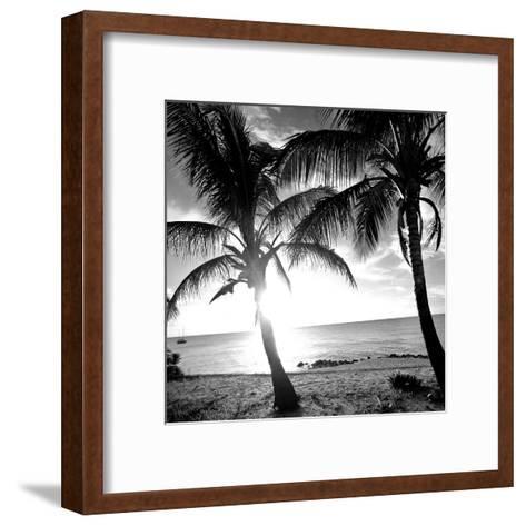 BW Bimini Sunset I-Susan Bryant-Framed Art Print