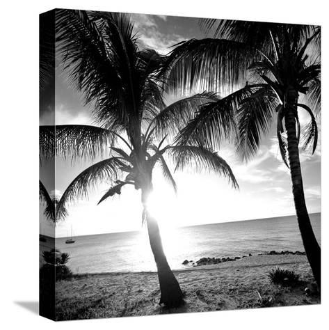 BW Bimini Sunset I-Susan Bryant-Stretched Canvas Print