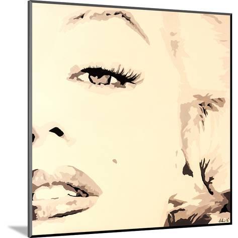 She Knows Marilyn Monroe Pop Art-Pop Art Queen-Mounted Giclee Print