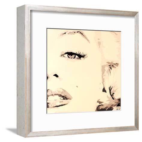 She Knows Marilyn Monroe Pop Art-Pop Art Queen-Framed Art Print
