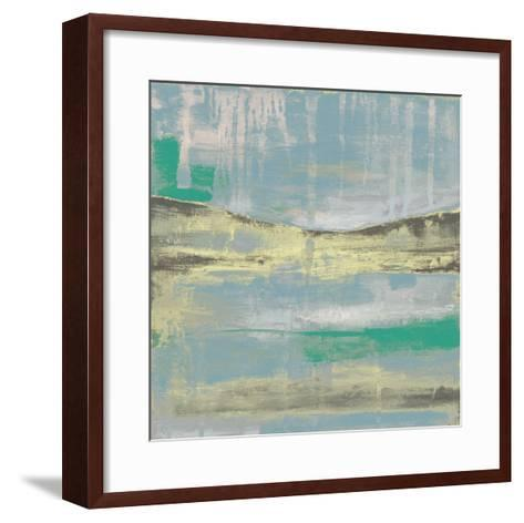 Cool Horizon IV-Jennifer Goldberger-Framed Art Print