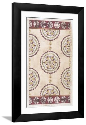 Embellished Mandala Panel I-June Erica Vess-Framed Art Print