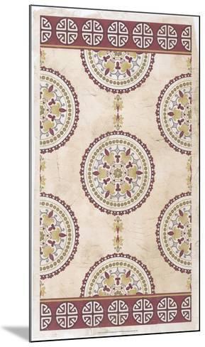 Embellished Mandala Panel I-June Erica Vess-Mounted Giclee Print