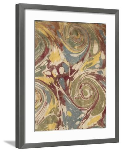 Marbleized II-Vision Studio-Framed Art Print