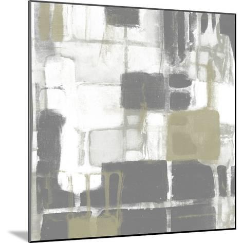 Neutral Quadrants II-Jennifer Goldberger-Mounted Giclee Print