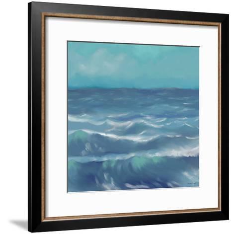 Ocean Waves I-Rick Novak-Framed Art Print