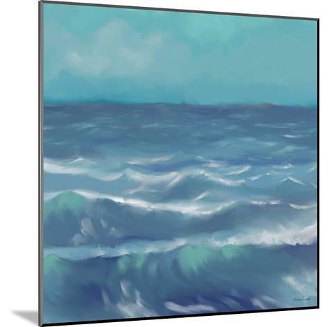 Ocean Waves I-Rick Novak-Mounted Art Print