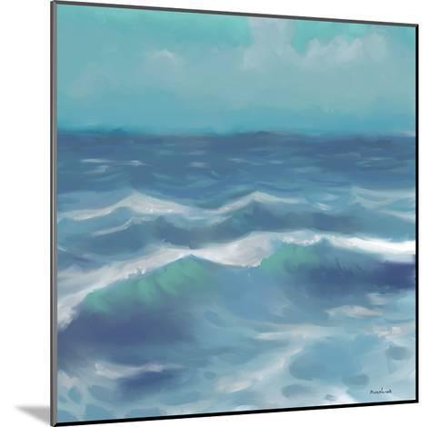 Ocean Waves II-Rick Novak-Mounted Art Print
