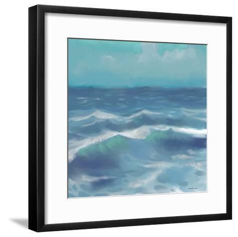 Ocean Waves II-Rick Novak-Framed Art Print