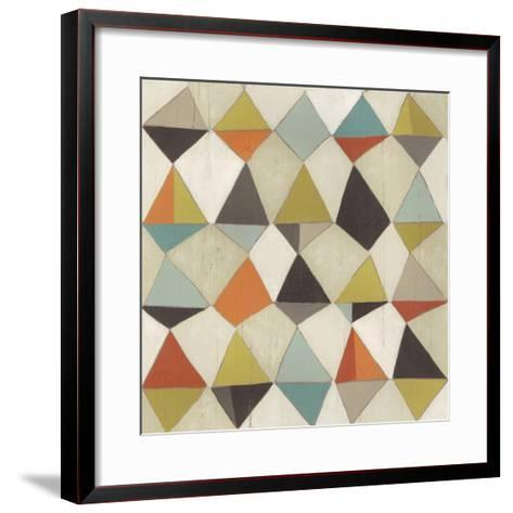 Pattern Undulation III-June Erica Vess-Framed Art Print
