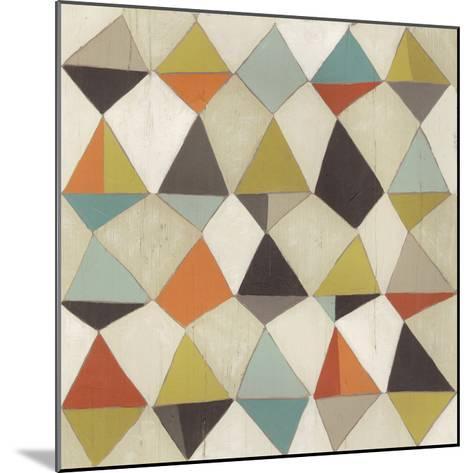 Pattern Undulation III-June Erica Vess-Mounted Art Print