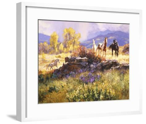 Stormy Afternoon-Claire Goldrick-Framed Art Print