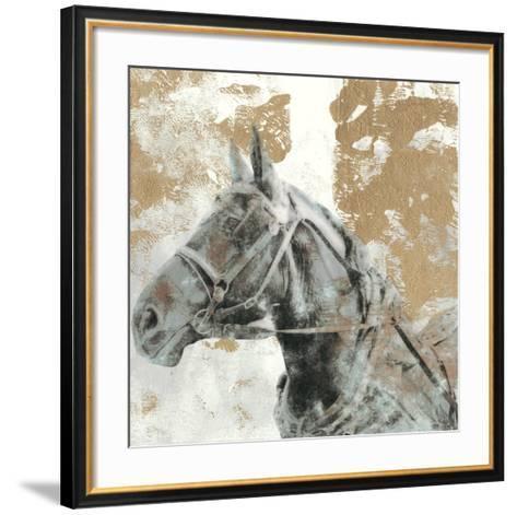 Driving Horses I-Naomi McCavitt-Framed Art Print