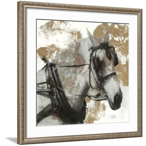 Driving Horses II-Naomi McCavitt-Framed Art Print
