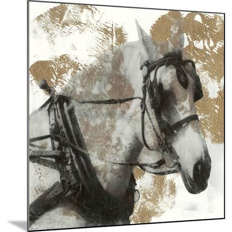 Driving Horses II-Naomi McCavitt-Mounted Giclee Print