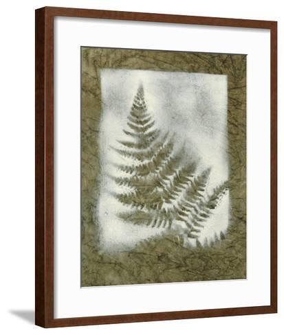 Shadows & Ferns II-Renee W^ Stramel-Framed Art Print