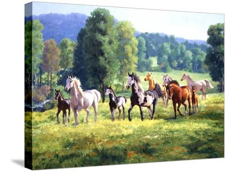 It's Spring-Claire Goldrick-Stretched Canvas Print