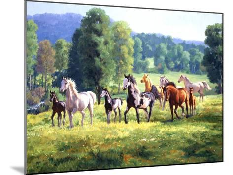 It's Spring-Claire Goldrick-Mounted Art Print