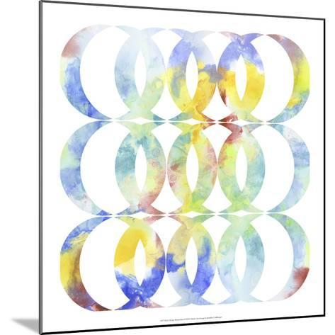 Metric Watercolors I-Jennifer Goldberger-Mounted Art Print