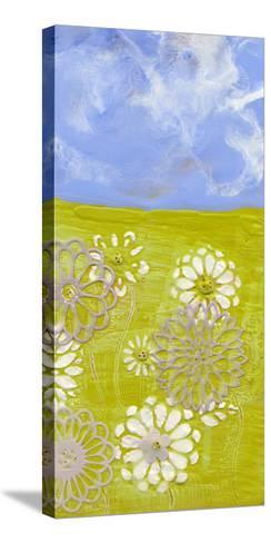Prairie Flowers II-Alicia Ludwig-Stretched Canvas Print