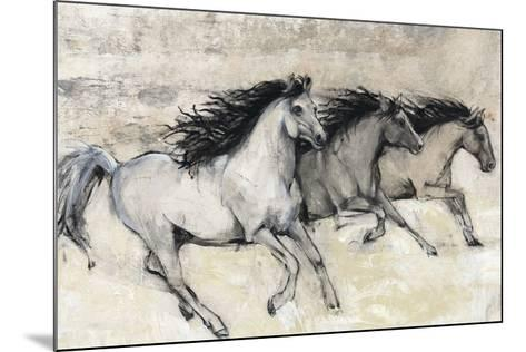 Horses in Motion II--Mounted Giclee Print